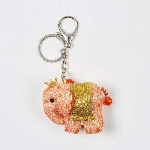 KACHA 30周年纪念版 Stand Keychain 大象钥匙扣 - 橘色
