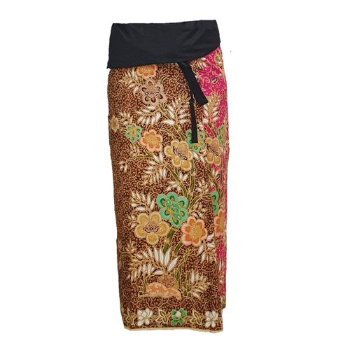 WATER SCENT SARONG DESIGN NO.4 BEAUTIFUL PINK -Free Size