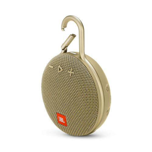 JBL CLIP 3 Portable Bluetooth® speaker (Desert Sand)