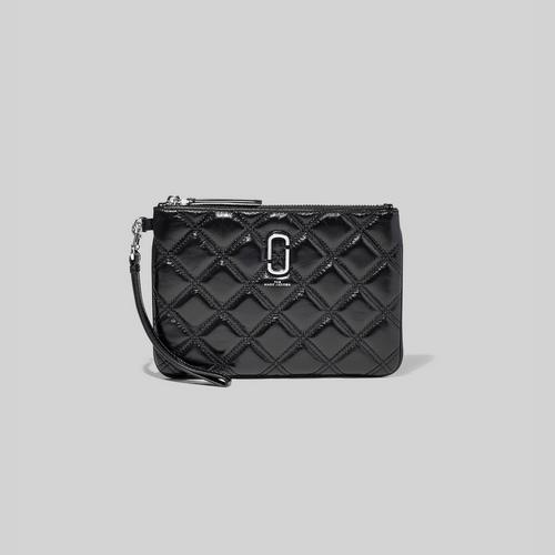 Marc Jacobs The Quilted Softshot SLGs Wristlet