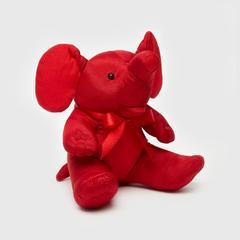 "Sunsanee Elephant Sit Doll Silk 4"""