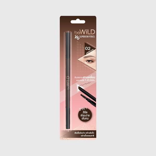BEWILD XS Slimbrow Pencil #02 Americano 0.07 G.