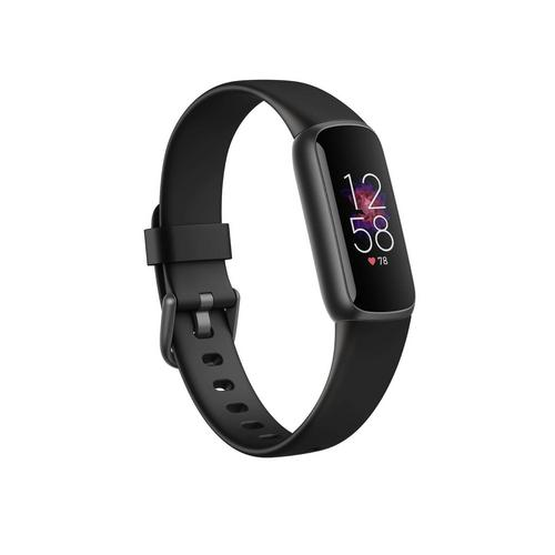 Fitbit Luxe Firness Tracker - Black / Graphite Stainless Steel Size: