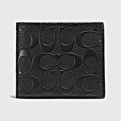 COACH(蔻驰)经典标志三合一斜纹钱包