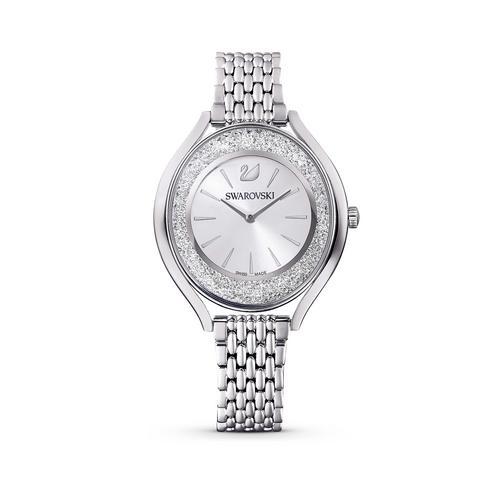 SWAROVSKI Crystalline Aura Watch, Metal Bracelet, Silver tone, Stainless steel