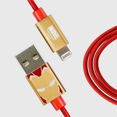 InfoThink iPhone/iPad Fast Charge Cable, Civil War Series, Iron Man
