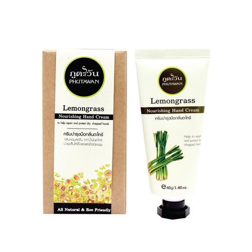 Phutawan Hand Cream Lemongrass 40 g.