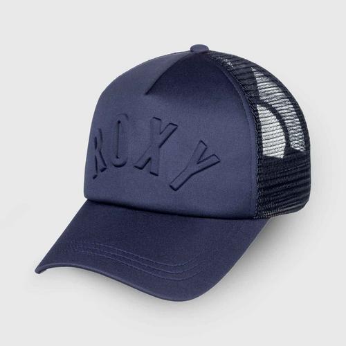 """ROXY """"Truckin 3D"""" Trucker Hat - Navy"""