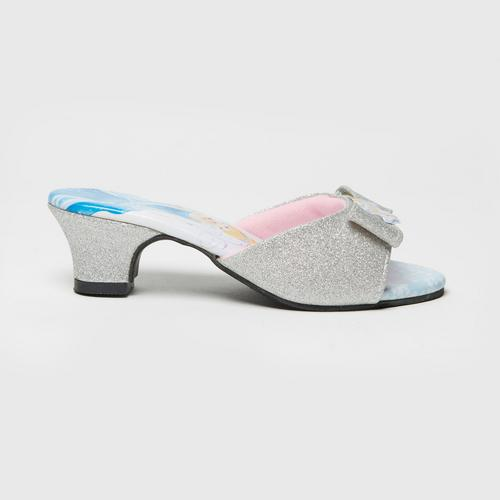 Disney Princess Mules Shoes Silver No.25(17cm)