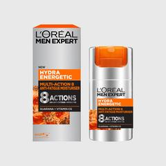 L'ORÉAL PARIS - HYDRA ENERGETIC - FACE CREAM - DRY TO SENSITIVE - 50ml -MEN SKINCARE - MOISTURISER