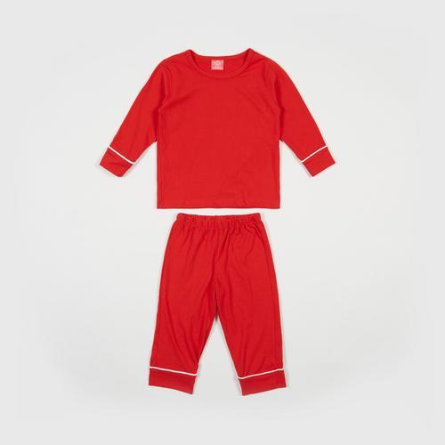 NANITA Kids Clothing Set P014 - Red - S