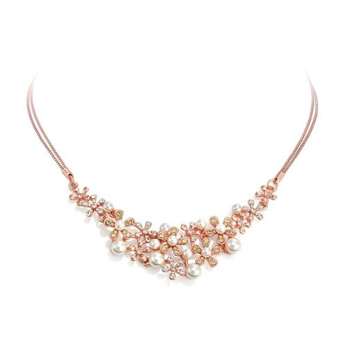 PICA LÉLA Galaxy 18K Rose Gold Clear Crystal