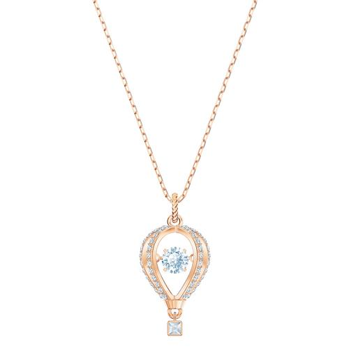 SWAROVSKI Into The Sky Pendant, White, Rose-Gold Tone Plated