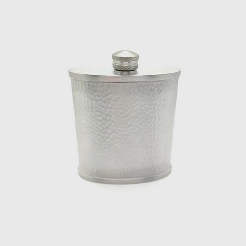 BANGKOK PEWTER Flask Hammered