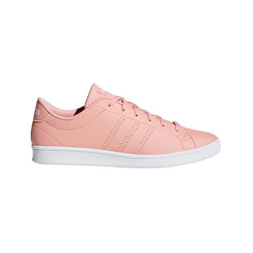ADIDAS ADVANTAGE CLEAN QT SHOES DUST PINK - SIZE 4