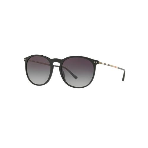 BURBERRY Black Gray Gradient Male Sunglasses