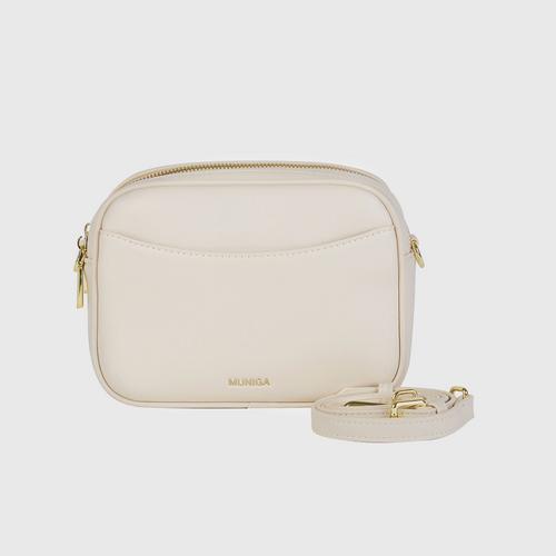 "MUNIGA ""BENA""Shoulder Bag (white)"