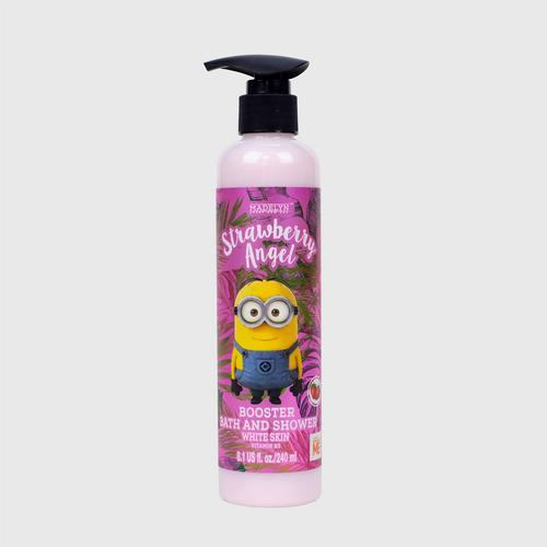 MADELYN MINIONS BOOSTER BATH AND SHOWER STRAWBERRY ANGEL 240 ML