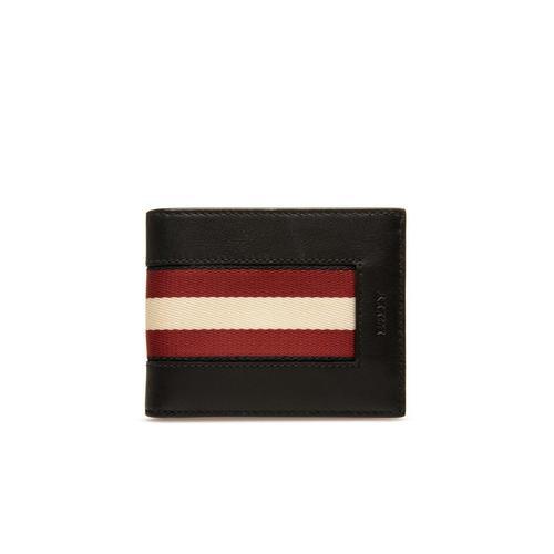 巴利BALLY Biman Leather Wallet - Black