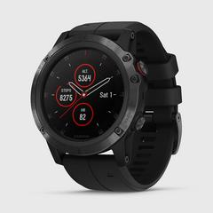 GARMIN Fenix 5x Plus Sapphire (Carbon Gray with Black band)