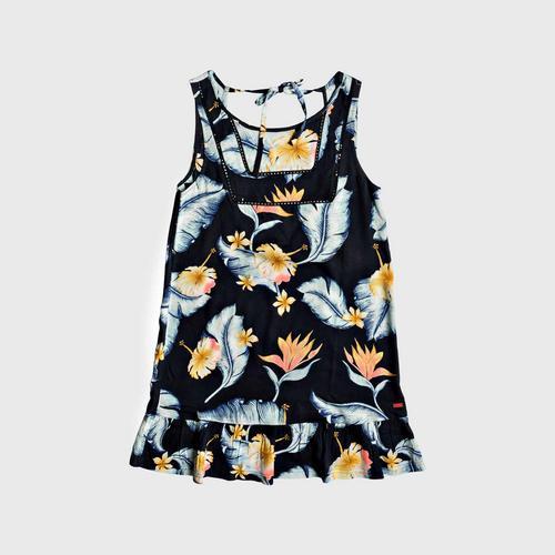 ROXY Black All About The Sea Dress Tank Dress size S
