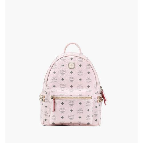 MCM Small Stark Side Studs Backpack in Visetos