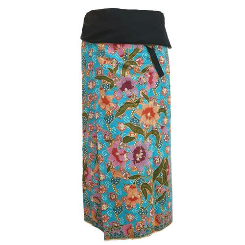WATER SCENT SARONG DESIGN NO.1 MARINE -Free Size
