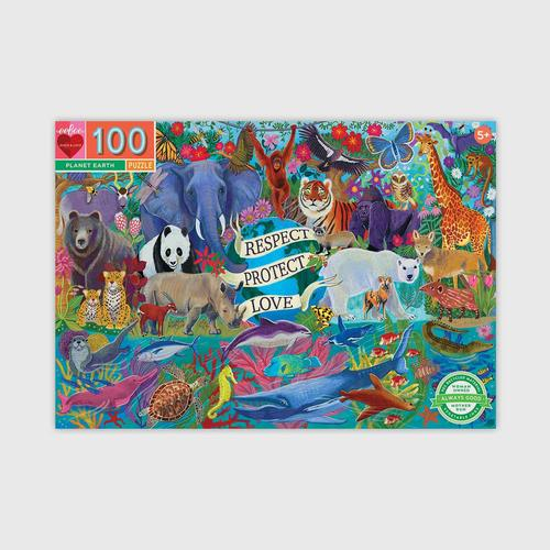 EEBOO - Planet Earth 100 Piece Puzzle