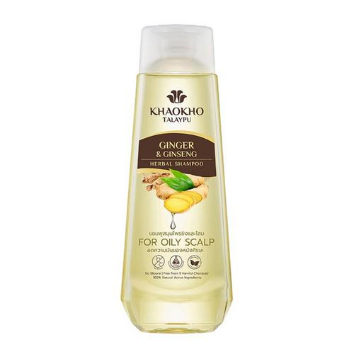 KHAOKHO TALAYPU Ginger And Ginseng Shampoo 330ml