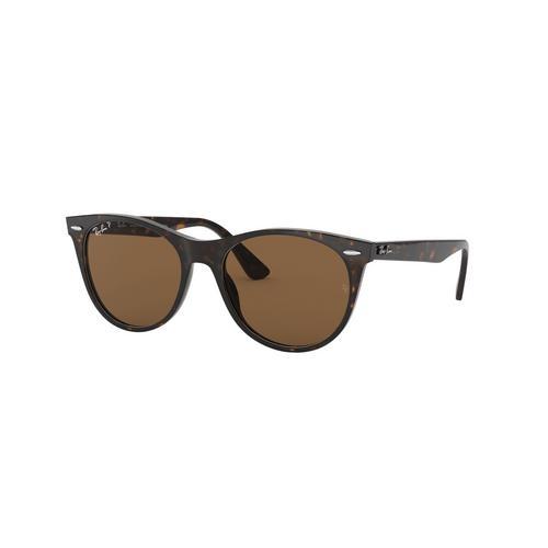 RAYBAN Stripped Havana Acetate Sunglasses 0RB2185902/5755