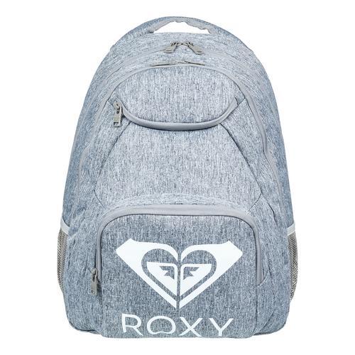 "ROXY ""Shadow Swell"" Solid  Backpack - Grey"