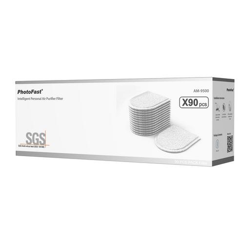 Photo fast N95 Intelligent Personal Air-Purifier Filter (90 Sheet)