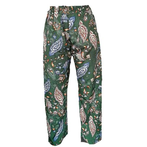 WATER SCENT CASUAL PANTS CLASSIC - GREEN (Free Size)