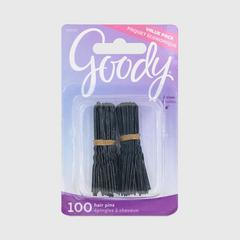 GOODY Hair Pins Black, Black 100CT