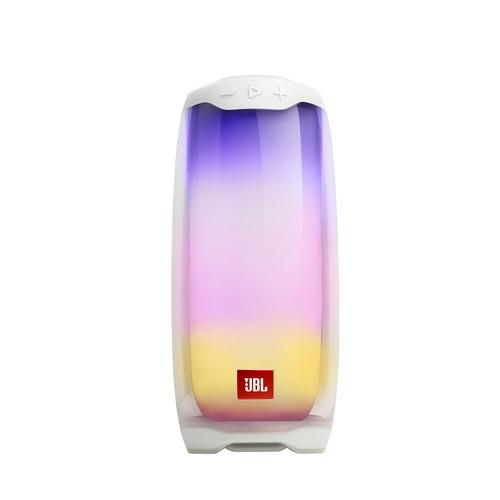 JBL Pulse 4 Portable Bluetooth Speaker - White