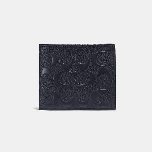 COACH 3-In-1 Wallet In Signature Leather - Midnight