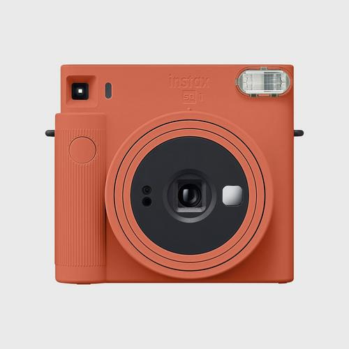 FUJIFILM Instax SQ1 Instant Camera - Terracotta Orange
