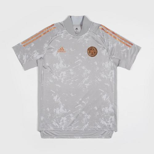 Leicester City Football Club 2020/2021 Europa Training T-Shirt Grey Colour Size S
