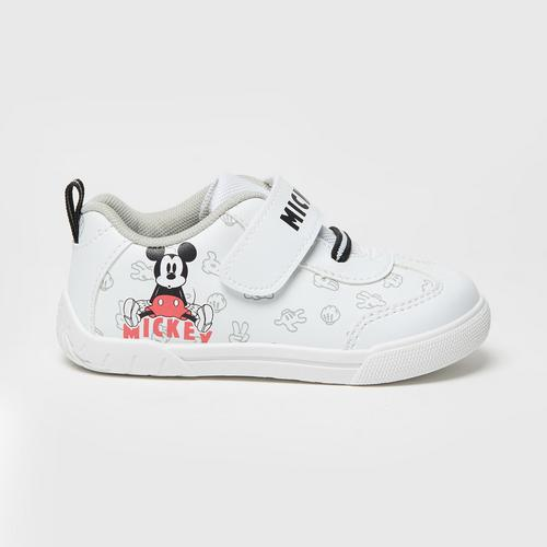 Disney MICKEY MOUSE Shoes White SIZE 15