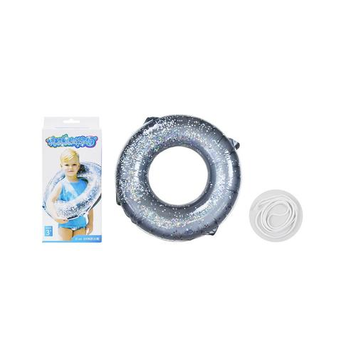 BB TOY :Silver glister rubber rings.