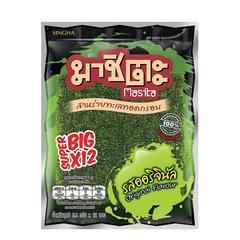Masita Fried Super Big Seaweed 81.6 g - Original Flavor