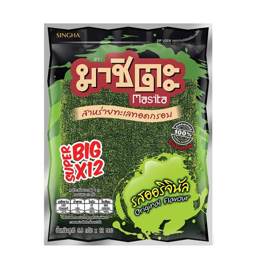 Masita Fried Super Big Seaweed 81.6 g - Original Flavor