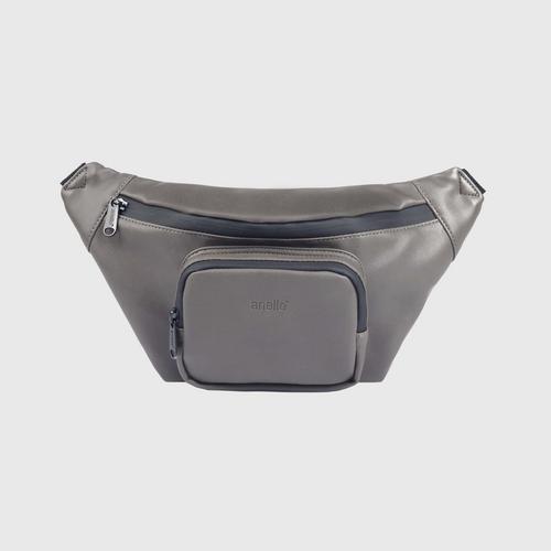 ANELLO OS-S075-ALTON Reg. Waist bag-DRACK GRAY