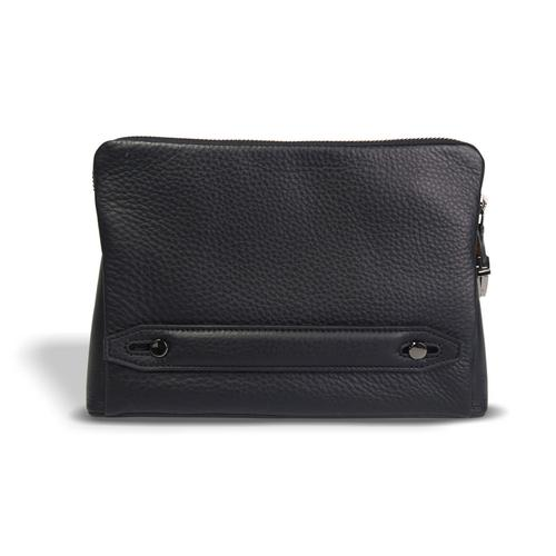 Container Leather Clutch 17 x 23 cm with 4.5 cm thickness