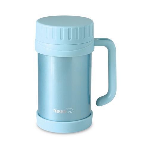 NIKKO 不锈钢真空保温杯 500毫升 CHX - 浅蓝色