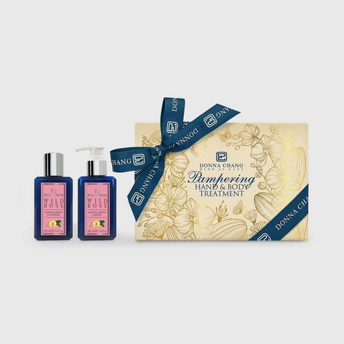 DONNA CHANG Wild Rose Body Treatment Gift Set 100 ml