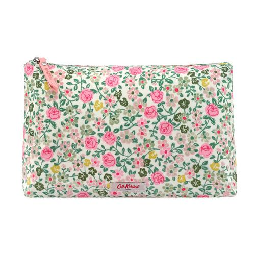CATH KIDSTON HEDGE ROSE Matt Zip Cosmetic Bag