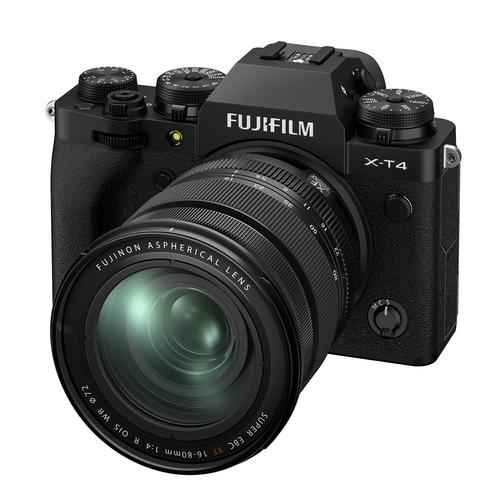 Fujifilm X-T4 Kit 16-80 mm. Black