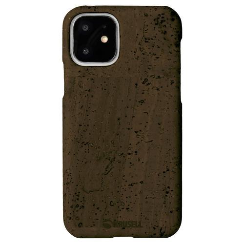 KRUSELL Birka Cover iPhone 11 - Dark Brown