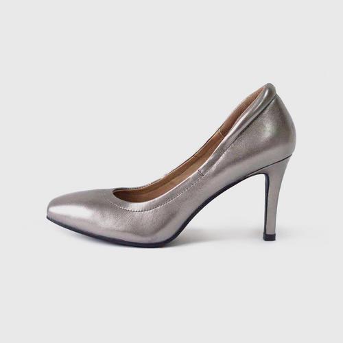 RAINBO Sandra High Heel-Platinum-35